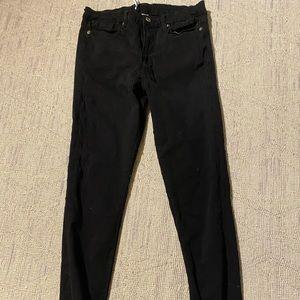 Good American Good Legs black skinny jean